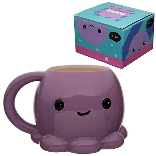 Cutiemals Ceramic Octopus Collectable Mug Novelty Gift