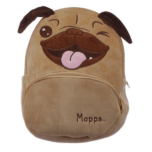 Kids School Rucksack/Backpack - Mopps Pug Novelty Gift
