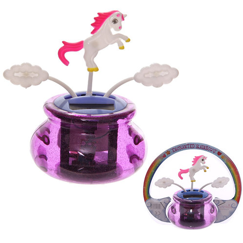 Novelty Gift Fun Unicorn Solar Powered  Pal