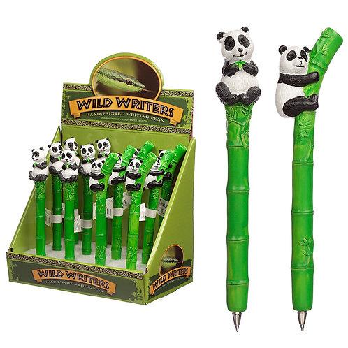 Cute Panda and Bamboo Novelty Pen Novelty Gift [Pack of 2]