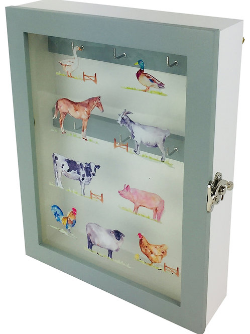 Country Life Farm Wooden Key Cabinet 26 cm Shipping furniture UK
