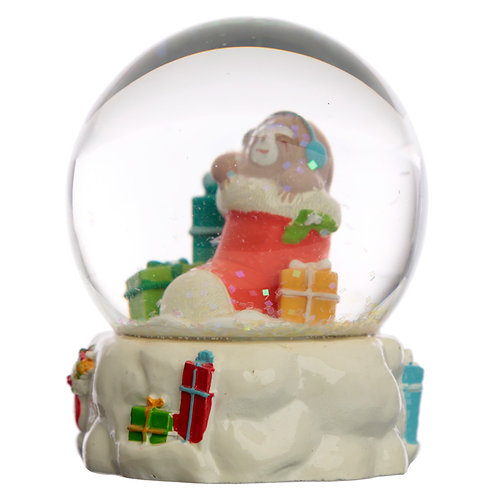 Collectable Chritmas Sloth Snow Globe Waterball Novelty Gift