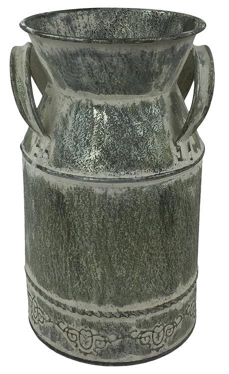 Vintage Zinc Churn 18cm Shipping furniture UK