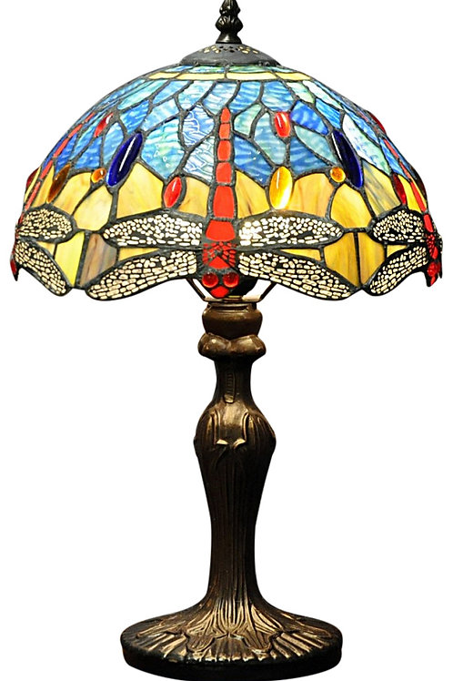 Blue Dragonfly Tiffany Lamp 12 Shipping furniture UK