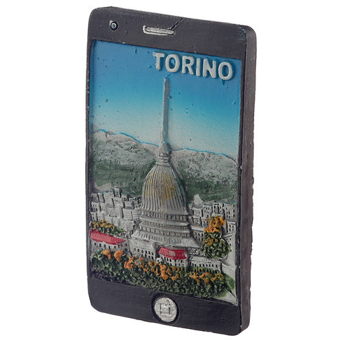 Novelty Gift Fun  Torino Mole Smart Phone Shaped Magnet