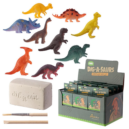 Fun Excavation Dig it Out Kit - Dinosaur Novelty Gift