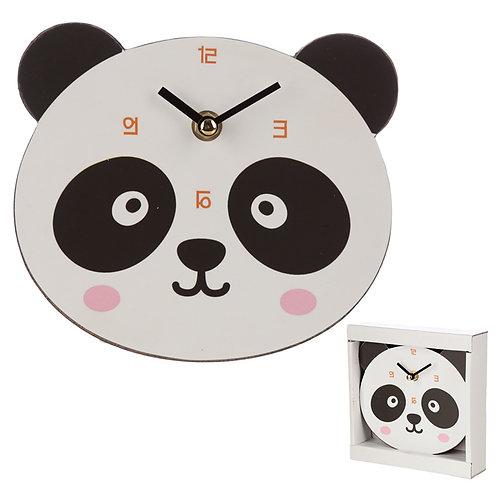 Cute Panda Shaped Wall Clock Novelty Gift