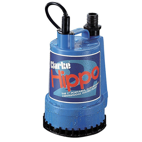 "Clarke 1"" Submersible Water Pump - Hippo 2- 230V 