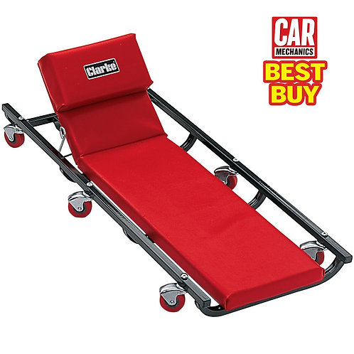 Clarke CMC45 Car Creeper With Adjustable headrest | DIY Bargains