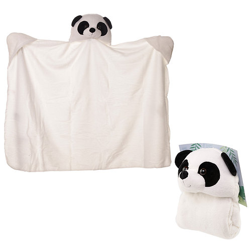 Plush Pandarama Wearable Blanket Novelty Gift