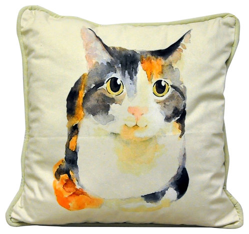 Cat Cushion 45cm x 45cm Shipping furniture UK
