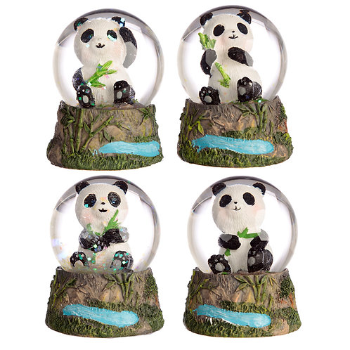 Novelty Cute Collectable Panda Snow Globe Gift