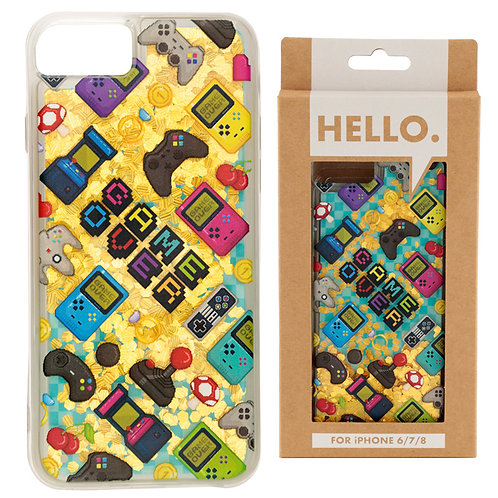 iPhone 6/7/8 Phone Case - Gaming Icons Design Novelty Gift