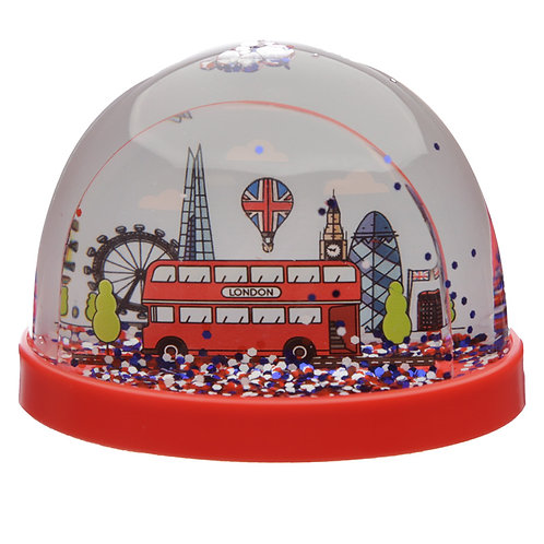 Collectable Snow Storm - London Icons Medium Novelty Gift