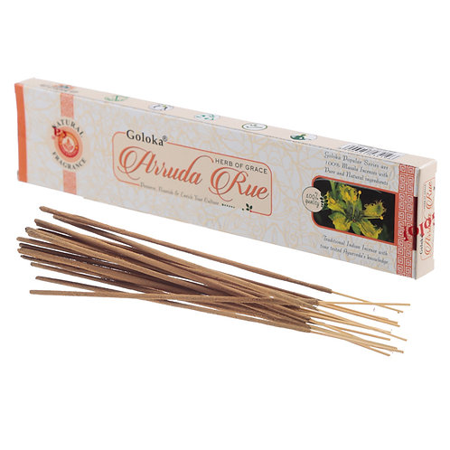 Goloka Incense Sticks - Arruda Rue Novelty Gift