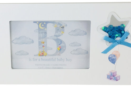 Boy Printed Picture Frames Shipping furniture UK