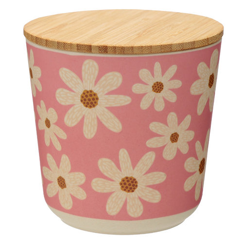 Small Bamboo Composite Storage Jar Oopsie Daisy Novelty Gift