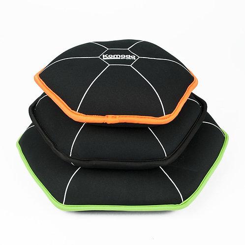 10kg Neoprene Weight Plate Set | Home Essentials UK