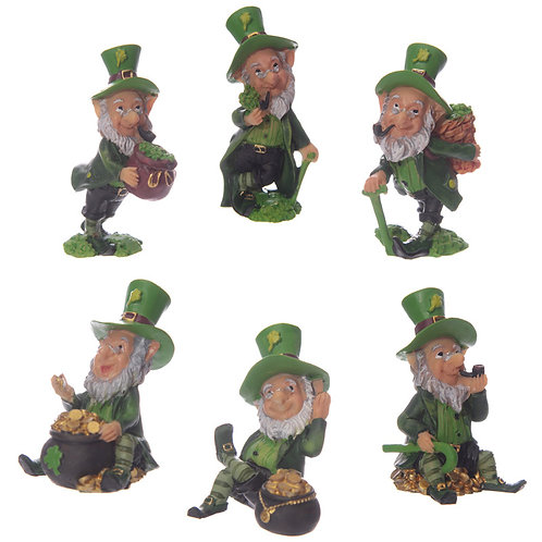 Fun Collectable Lucky Leprechaun Figurines Novelty Gift