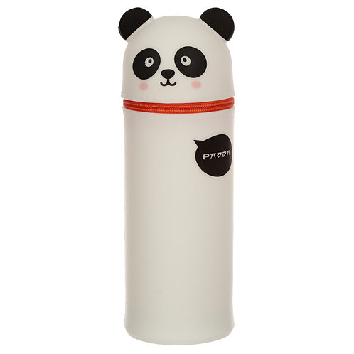 Cutiemals Panda Silicone Upright Pencil Case Novelty Gift [Pack of 2]
