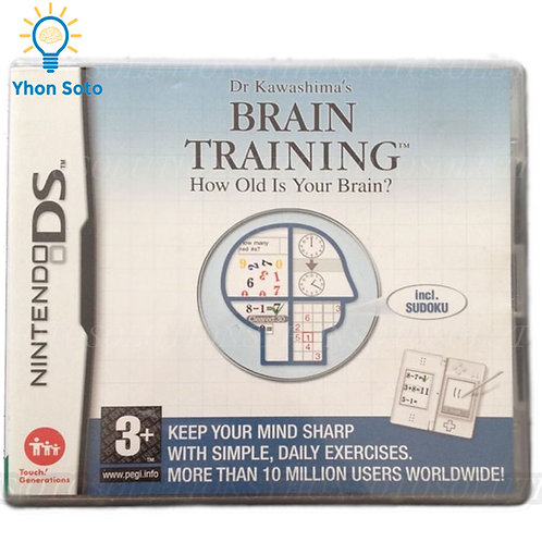 Dr. Kawashima's Brain Training: How Old is Your Brain (Nintendo DS, 2006)