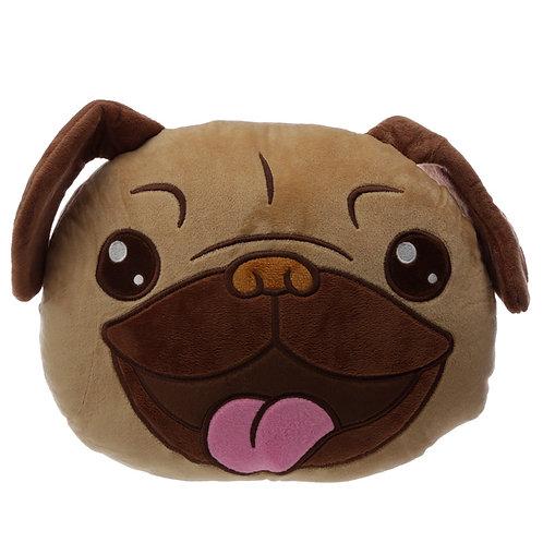 Plush Mopps Pug Cushion Novelty Gift