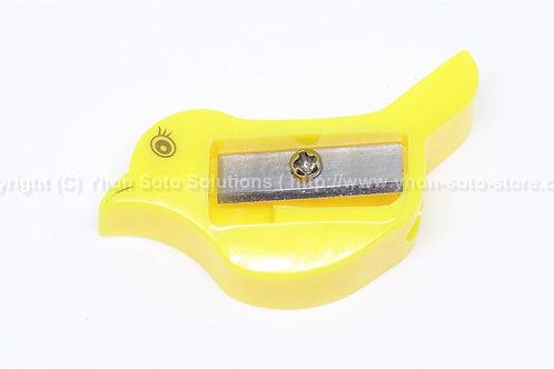 Yellow Bird Pencil Sharpener