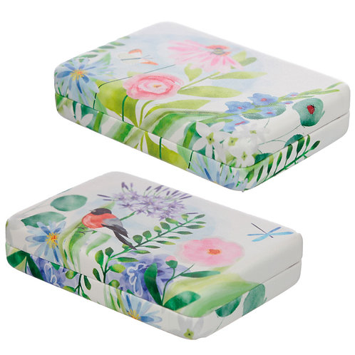 Collectable Jewellery Box - Botanical Gardens Novelty Gift