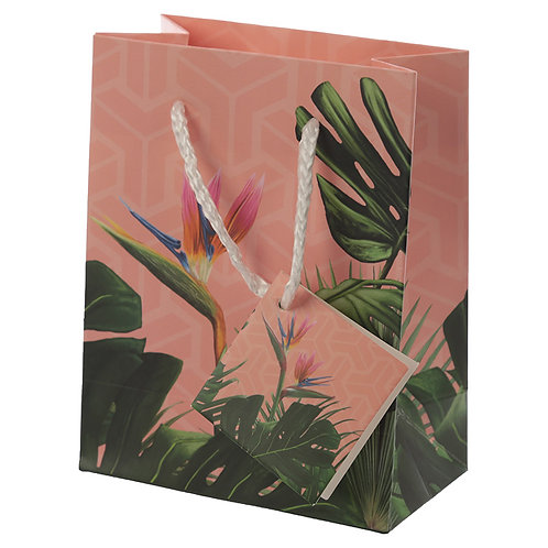 Decorative Tropical Paradise Small Gift Bag Novelty Gift