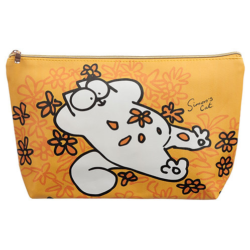 Large PVC Make Up Toiletry Wash Bag - Simon's Cat Novelty Gift