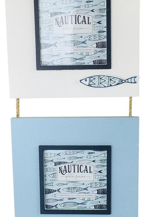 Triple Hang Photo Frame Fish 44cm Shipping furniture UK