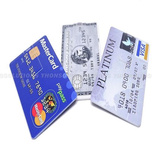 Novelty Secret Credit Card 4GB Novelty USB 2.0 Flash Drive Storage Memory Stick