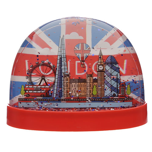 Collectable Snow Storm - London Union Jack Large Novelty Gift