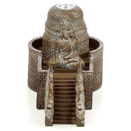 Backflow Incense Burner - Thai Buddha Temple Novelty Gift