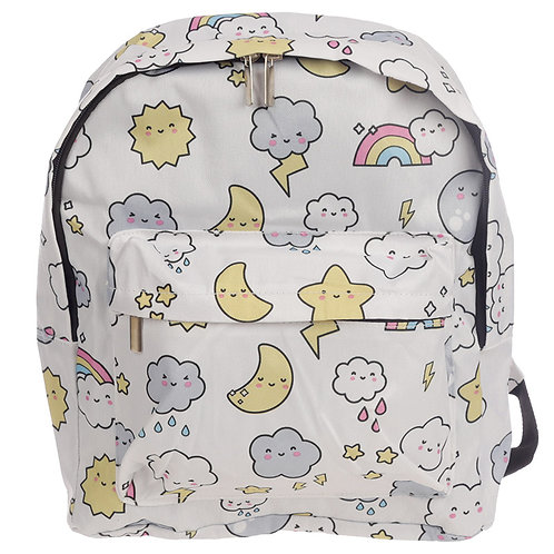 Handy Kids School & Everyday Rucksack - Kawaii Weather Design Novelty Gift