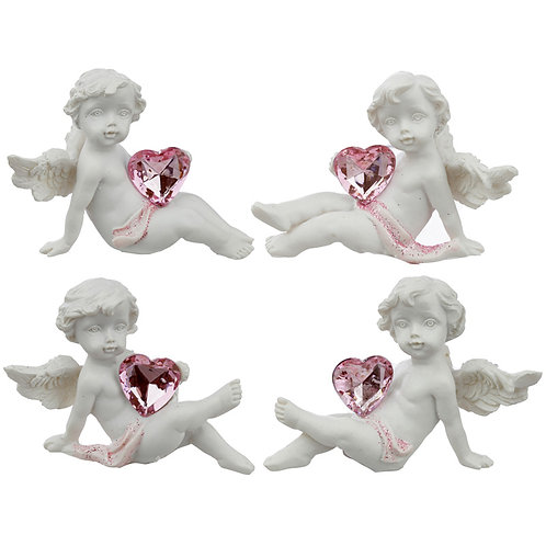 Collectable Peace of Heaven Cherub - Playful Heart [ONE ONLY] Novelty Gift