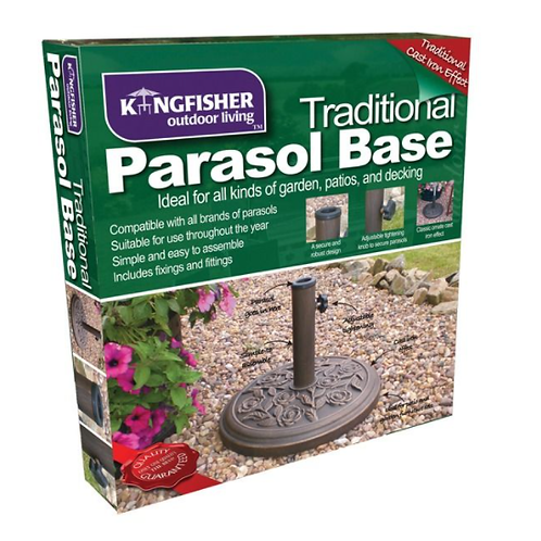 9kg Cast Iron Effect Parasol Base   Florist Sundries Supplies and Events UK