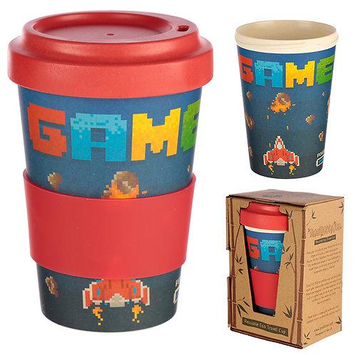 Bamboo Composite Game Over Travel Mug Novelty Gift