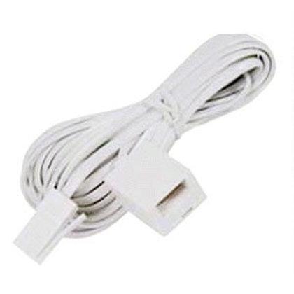 10 Metre UK Telephone Male to Female Extension Cable   Home Essentials UK