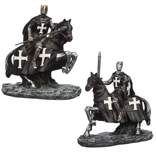 Collectable Dark Knight on Horseback Figurine [ONE ONLY] Novelty Gift