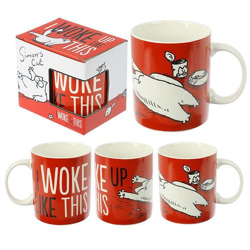 Collectable Porcelain Mug - Simon's Cat Slogan Novelty Gift