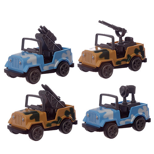 Fun Kids Military Car Toy Novelty Gift