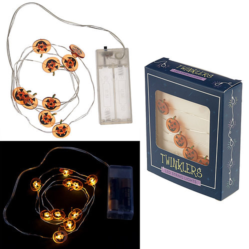 Novelty Gift Decorative LED Light String - Halloween Pumpkins