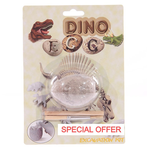 Fun Excavation Dig it Out Kit - Glow in the Dark Dinosaur Novelty Gift
