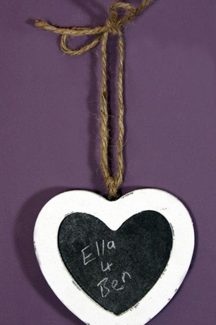 Heart Blackboard Small Shipping furniture UK