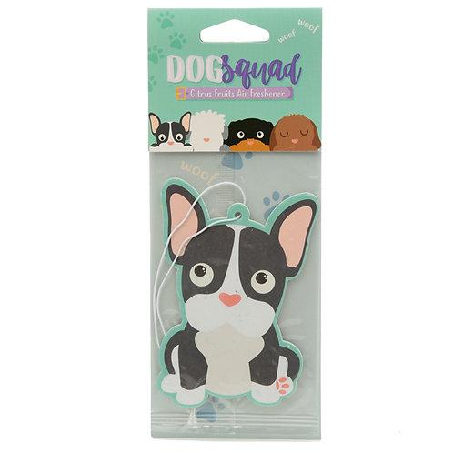 Dog Squad French Bulldog Citrus Scented Air freshener [Pack of 2] Novelty Gift
