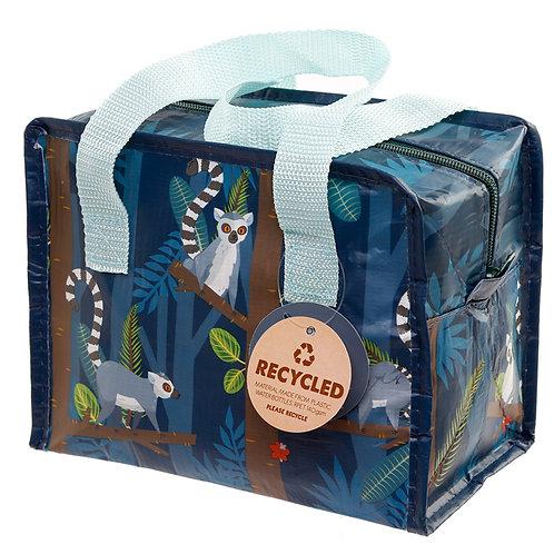 Spirit of the Night Lemur Recycled Plastic Reusable Lunch Bag Novelty Gift