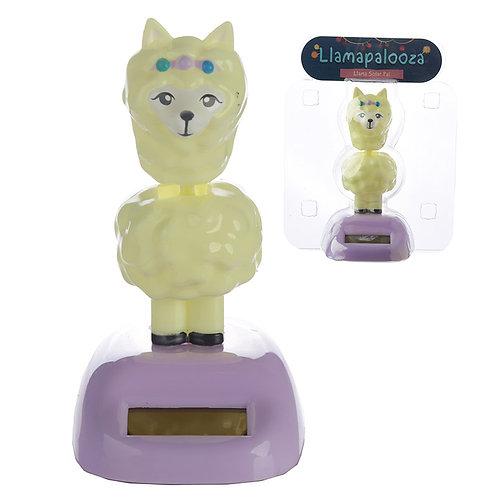 Novelty Gift Collectable Llama Solar Powered Pal
