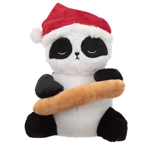 Fun Christmas Pandarama Plush Door Stop Novelty Gift