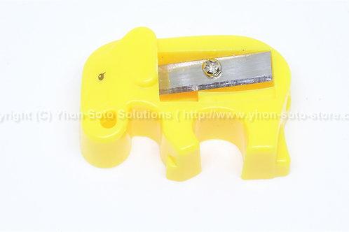 Yellow Elephant Pencil Sharpener